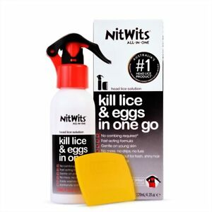 NitWits All-in-One Lice Treatment