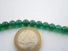 6 pietre in giada smeraldo cabochon di 6 mm