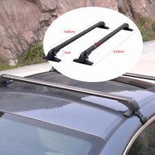 2X Car SUV Aluminum Roof Top Rack Bar Luggage Rack Luggage Cross Bar Anti-theft