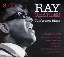 Ray Charles - Confession Blues 3CD Goldies 2001 NEW & SEALED