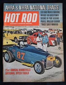 HOT ROD MAGAZINE - NOVEMBER 1969