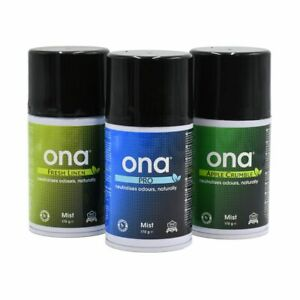 Ona Mist Odour Air Control Smell Eliminator/Neutralizer Professional Hydroponics