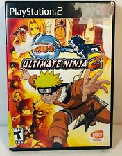 Naruto: Ultimate Ninja 2 PS2 (Sony PlayStation 2, 2007) Complete