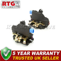 2x Door Lock Actuators Rear Fits VW Golf Scirocco Transporter Skoda Seat