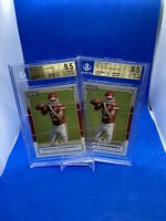 2017 Playoff Red Zone Patrick Mahomes BGS 9.5 (2) Card Lot