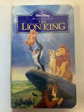The Lion King VHS Clamshell VHSshopCom