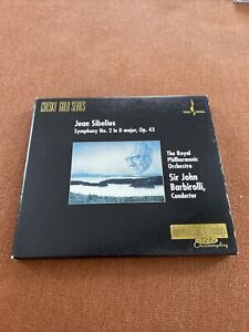 Jean Sibelius Symphony No.2 In D Major, Op.43 Royal Phil. Orchestra Gold CD Rare