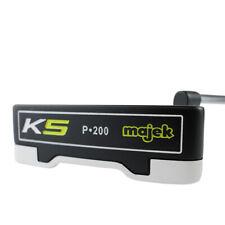 "SuperStroke FATSO 5.0 Black/Silver Grip on Majek K5 P-200 Blade Style 36"" Putter"