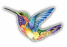 Watercolor Hummingbird Sticker Vinyl Decal 3-97