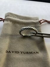 David Yurman Sterling Silver Cable Classics Ring Sz 7 in Mint EUC + DY Pouch
