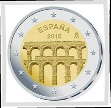 2 EURO *** Spanje 2016 *** aquaduct Segovia UNESCO **** Espagne 2016 !!!