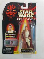 Star Wars - Obi Wan Kenobi - Episode 1 - Figure + CommTalk Chip - New & Sealed