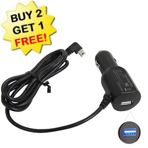 🆕 For Garmin GPS USB Port Charge Power Car Cable Auto Port Cord Wire Charging