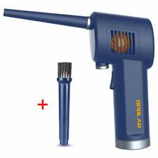OPOLAR 무선 에어 더 스터 압축 스프레이 / 컴퓨터 키보드 및 전자 제품 청소용 충전식 송풍기 【Blue】
