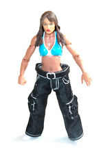 "WWF WWE TNA WRESTLING -  LITA Custom diva 6"" mattel elite female figure RARE"