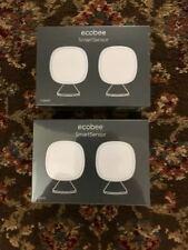 Four (4) Ecobee SmartSensor Eb-Rshm2Pk-01 2x2pk 4 all ecobee smart Thermostats