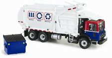 FIRST GEAR 1:34 MACK TERRAPRO WITH WITKKE FRONT LOAD REFUSE Truck with Bin