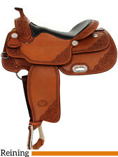 "NEW 16"" Billy Cook Reining Saddle - Pro Reiner - Made in Sulphur, Oklahoma"