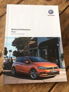 Manuel Notice D Utilisation Volkswagen Polo