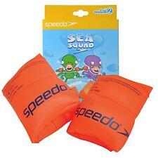 Speedo Roll-Ups Armbands Arm Bands Kids Swimming 2-12 Years Orange