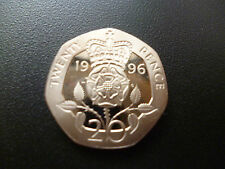 1996 PROOF 20P PIECE HOUSED IN A CAPSULE, 1996 PROOF TWENTY PENCE COIN CAPSULED.