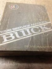1992 GM Buick Roadmaster Service Repair Shop Workshop Manual FACTORY OEM 1992