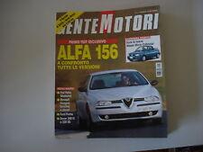 - GENTE MOTORI 11/1997 ALFA ROMEO 156/ROVER 220/200/FIAT PALIO WEEKEND/KANGOO