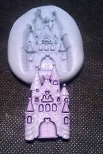 Grand Moule Silicone Princess chateau de moisissure, sugarcraft, décoration de gâteaux, artisanat