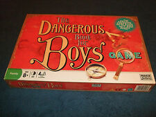 THE DANGEROUS BOOK FOR BOYS FAMILY BOARD GAME BY PARKER 2006