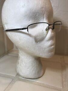 OAKLEY RHINOCHASER Eyeglasses Frame OX3111-0752 52-19-143 Polished Midnight