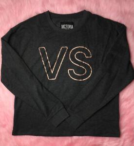 VICTORIA'S SECRET PINK Long-Sleeved Jumper / Sweater - Size XS - UK SELLER