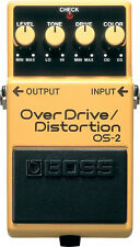 BOSS os-2 OVERDRIVE/DISTORTION-installeremo Pedale effetto