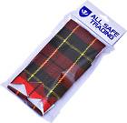 New Scottish Wallace Tartan Kilt Flashes/Highland Kilt Hose Flashes (Pair)