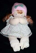 "Jan Shackelford Newborn Preemie Baby Young'Un Girl Doll 11"" Cloth Stamped Signed"