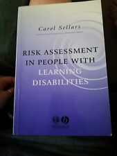 Risk Assessment in People with Learning Disabilities by Carol Sellars...