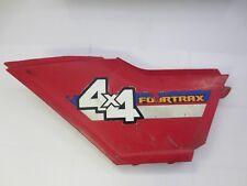 1986 Honda Foreman 350 4x4 ATV Left Plastic Cover Panel Piece (345/27)