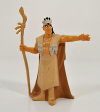 "3"" Powhatan Indian Chief PVC Mattel Action Figure Toy Disney Store Pocahontas"