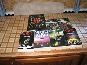 Stephen King lot romans