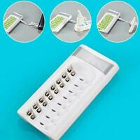 8 Slot Battery Charger For Ni-MH Ni-CD AA AAA Rechargeable Batteries N8C0