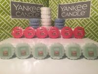 Lot of 6 YANKEE CANDLE Tarts Wax Melts ~ You Choose Scent ~ NEW IN PLASTIC