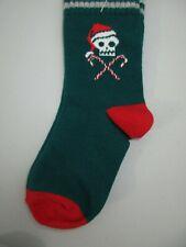 Gymboree Santa Hat Candy Cane Skull Socks XXS 3 NWT