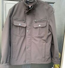 NWT Michael Kors Coat Size M black Boho Retro Classic Dress ECU