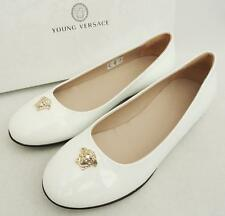 Young Versace Medusa Flats Shoes UK5 EU38 RRP269GBP, perfect gift