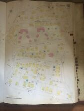 1928 BOSTON ROSLINDALE, MA. JAMES F. HEALY PLAYGROUND SANBORN PLAT ATLAS MAP