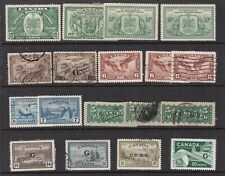 Canada ^Back of Book x18 mint & used $@ lar 780cana