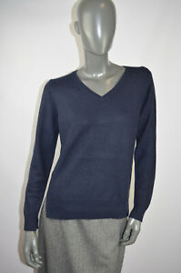 Closed pure cashmere women jumper in blue size S, UK 8, VGC#