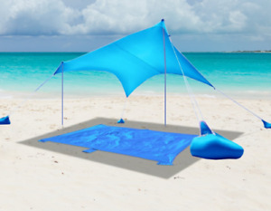 Beach SunShade Beach Tent With Sandbag Anchors