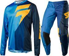 2018 Shift Whit3 Label Tarmac Motocross Kit Combo in Blue - Size 38/XL BNWT