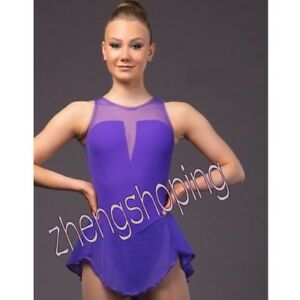 Ice Figure Skating Dress/Competition Skating Twirling Costume Dress 8840-5