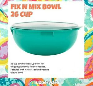 Tupperware Fix N Mix Bowl 26 Cup